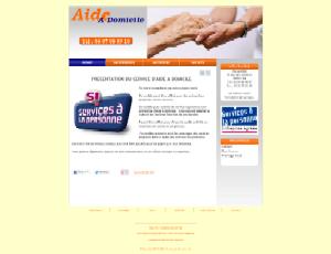 Aide � domicile - Blanc