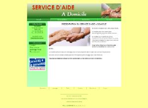 Aide � domicile - Vert