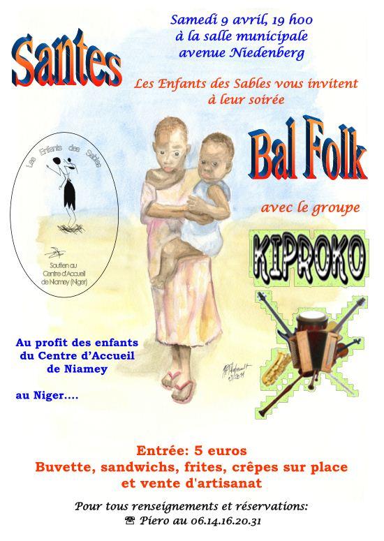 Bal folk à Santes