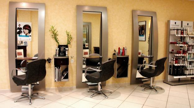 Mod le de page d 39 accueil pour salon de coiffure - Les model de salon ...