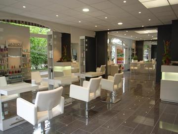 Mod le de page d 39 accueil pour salon de coiffure for Exemple de reglement interieur salon de coiffure